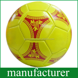 PVC Leather Sewing Machine Soccer Ball for Training Size 5 Customized Available