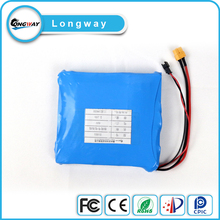 16S1P 7.2v 4.4h Lithium Ion rechargeable battery pack for electric vehicle