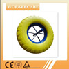 4.80/4.00-8 PU tyre wheel with 258mm solid axle