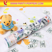 2015 Hot Sale Party Popper with Dollar
