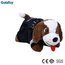 custom stuffed animal shape cushion plush toy dog cushion