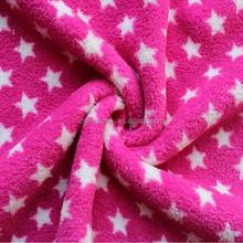 double sided anti pill Fleece fabric