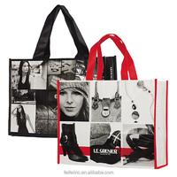 Gift shopping tote bag, laminated Eco non woven Bag