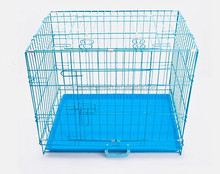Cheap foldable stainless steel wire mesh indoor dog cage for sale