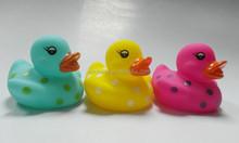mini yellow duck/vinyl floating duck/baby bath duck