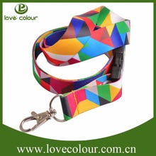 Popular factory custom ornaments lanyards for party