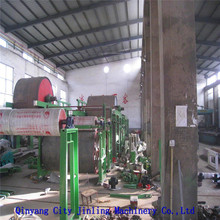 1092type cylinder mould 5tons writing paper/exercise book paper making machine with CE and ISO9001 and SGS certificates
