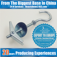 Best price steel spring toggle with eye hook zp