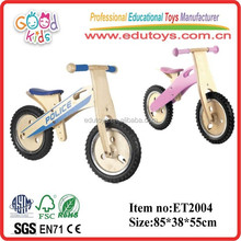 EN71 Goodkids eco-friendly wooden balanced bicycle for children