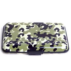 Aluminum Aluma Hard Case Credit Cards Wallet/Case/Holder