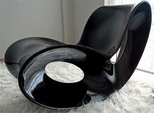 Elegant Butterfly Rocking Chair Fashionable Fiberglass Living Room Chair