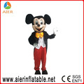 Gonflable mickey costume de mascotte pour adultes