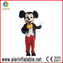 Inflatable mickey costume, inflatable mickey mascot costume for adults
