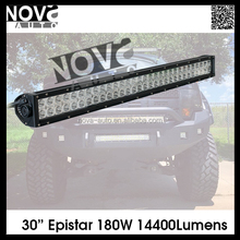 "Straight 30""180W LED Off road Light Bar Epistar LED Driving Led Light bar for SUV,JEEP ,Off road ,Pickup,Truck"