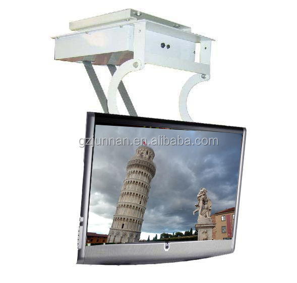 Motorized lcd led tv flip down lift ceiling mount 32 40 for Motorized vertical tv lift