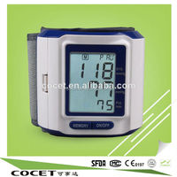 2015 China Best Quality Cheap Price Portable Functional Wrist Sphygmomanometer/Bp Monitor /24 Hours Blood Pressure Monitor