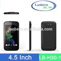negocio para la venta MTK6582 Quad Core Alibaba en España OEM / ODM teléfono móvil de pantalla táctil grande LB-H30-1