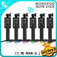Trending hot products professional wireless monopod free selfie stick photo taking bluetooth selfie stick
