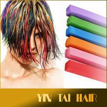 100% Color temporal del pelo en colores Pastel de la tiza Non-toxi colorido del pelo del tinte de la tiza