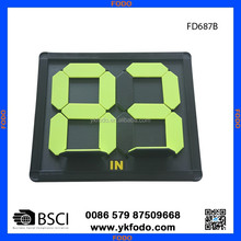 Football soccer palyer substitution board coaching hand change board soccer training products(FD687-2)