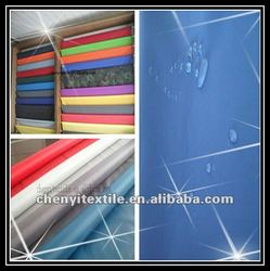 """New style polyester taffeta width 58""""-71"""" pu covering materials"""