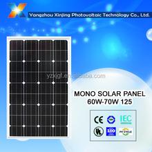 Best price 18V solar panel 70 watt for 12v solar system