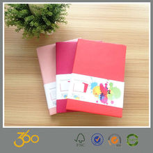 2015 good quality cover pu notebook leather , leather notebook cover