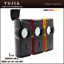 Hot sale Guangzhou touch electronic cigar lighter torch with punch