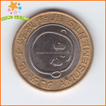 Chile canada embossed token with high quality