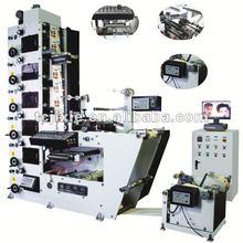 SB320/470/650/850 label flexo printing machine with one slitting station