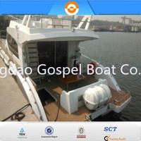 Luxury 33FT Catamaran Aluminum Boat/double hull Yacht