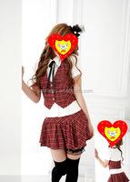 woman sex shool girl uniform pin up dress adult sexy school girl costume photos QAWC-2206