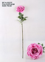Real touch bastante individual con tallo rosa artificial, fake rose