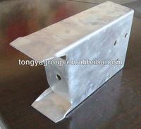 Hot dip galvanized irregular shape steel,irregular steel profile,irregular steel channel