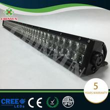400w osram led strobe light bars fish eye lens spot light for truck light bar led