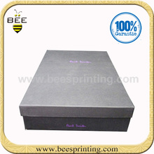 Customized Paper Carboard Colorful Packing Boxes, Custom Paper Apparel Packing Boxes
