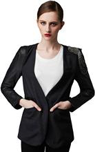 Femmes jolie Business Suite / femmes Blazer noir