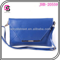 lady clutch bag new fashion envelope clutch bag with shoulder bag lower MOQ