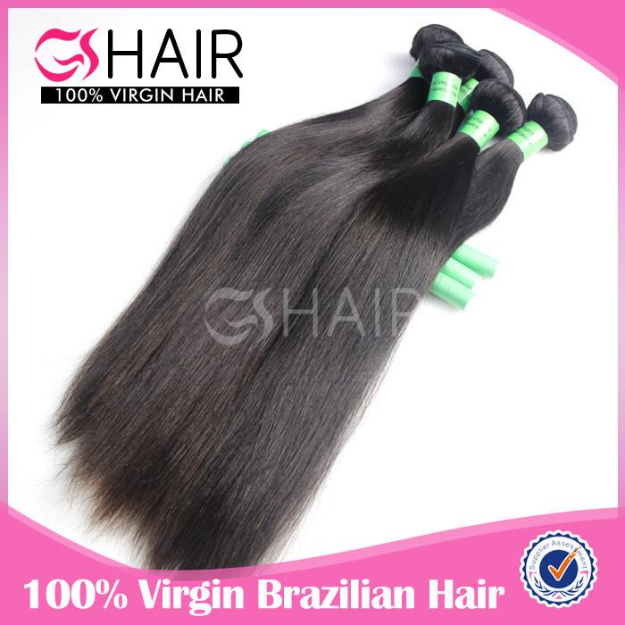 7A grade silky straight 100% raw unprocessed wholesale virgin brazilian hair