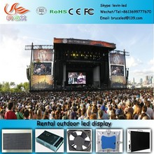 RGX U53 Outdoor commercial led display fixed/rental installation P16 mm giant led screen