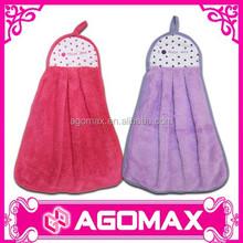 Inexpensive popular gift magic coral fleece hand towel