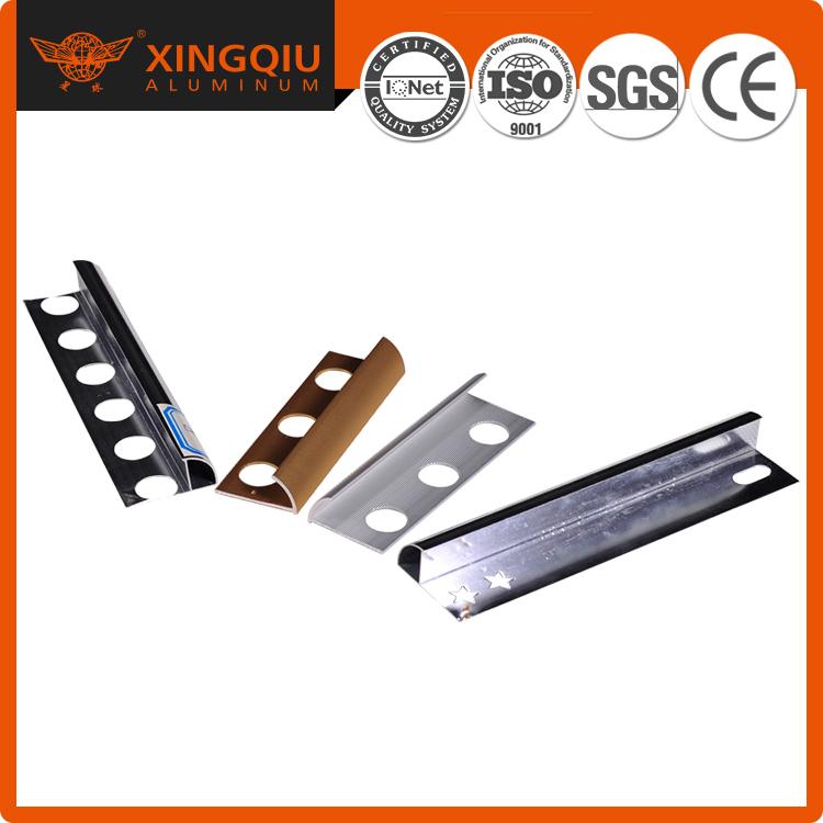 Metal tile trim, aluminum corner tile trim for tile