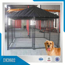 OEM Or ODM Galvanized Portable Dog Kennel