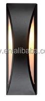 High Efficency Warm Black Color Bulk Head Lights LED Light Source Bulkhead Light Fitting With Aluminium Material