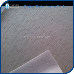 China pvc faux leather for decoration high quality with big produce