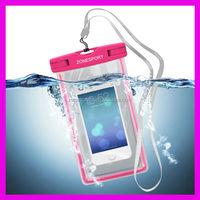 Wholesale Phone Waterproof Case,2014 high quality clear mobile phone pvc waterproof bag