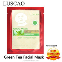 Distributer mexico with luscao cosmetic green tea facial mask best whitening cream for face