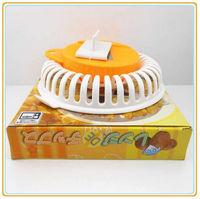 Household Portable 2013 Hot Sell Microwave Apple Fruit Potato Crisp Chip Slicer Snack Maker