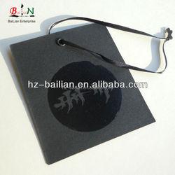 Custom printed paper garment hang tag