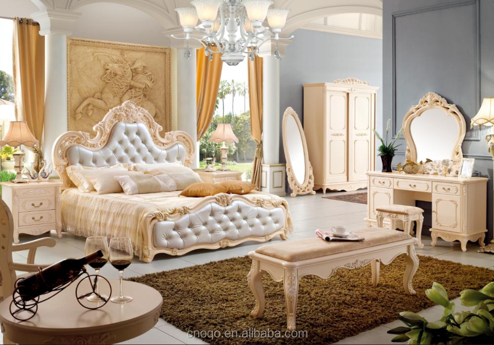 1 4 m coiffeuse avec miroir et tabouret meubles de luxe de for Modele de coiffeuse de chambre
